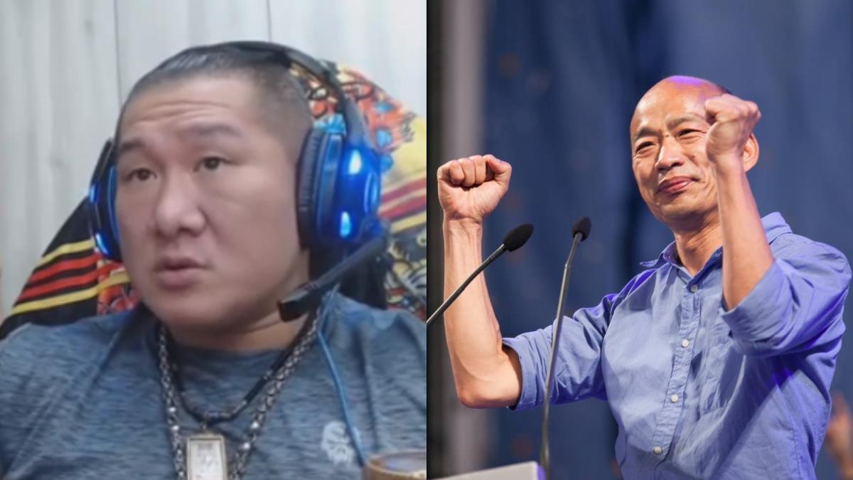 館長砲轟韓國瑜:喜歡他,所以我罵他!盼入主總統府