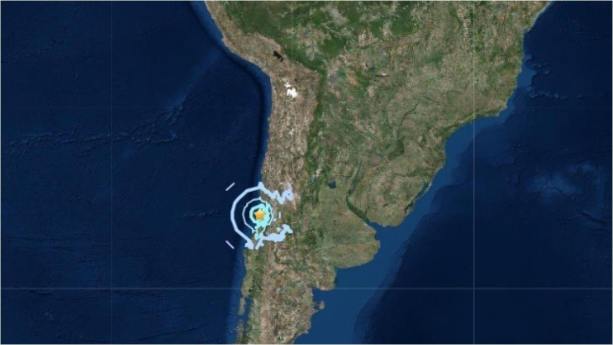 地牛翻身!規模5.2地震襲擊智利中部