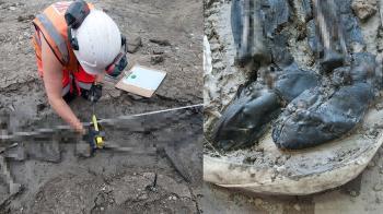 品質保證!埋500年屍腐爛剩白骨…腳上長靴竟保存良好
