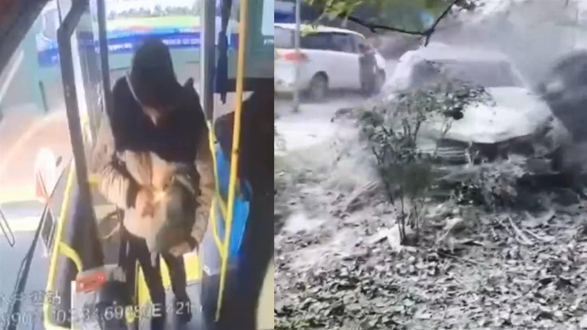 血跡斑斑!四川公車驚傳爆炸 釀17人受傷