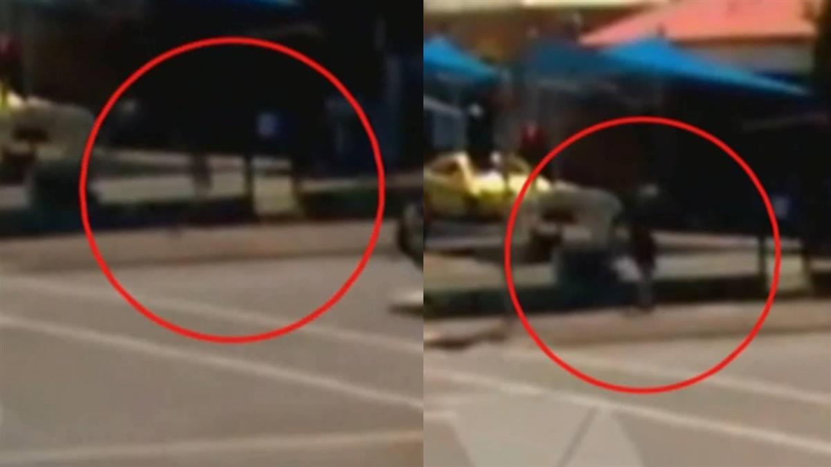 男子走到一半憑空消失!幾秒後…貨車爆炸駕駛亡