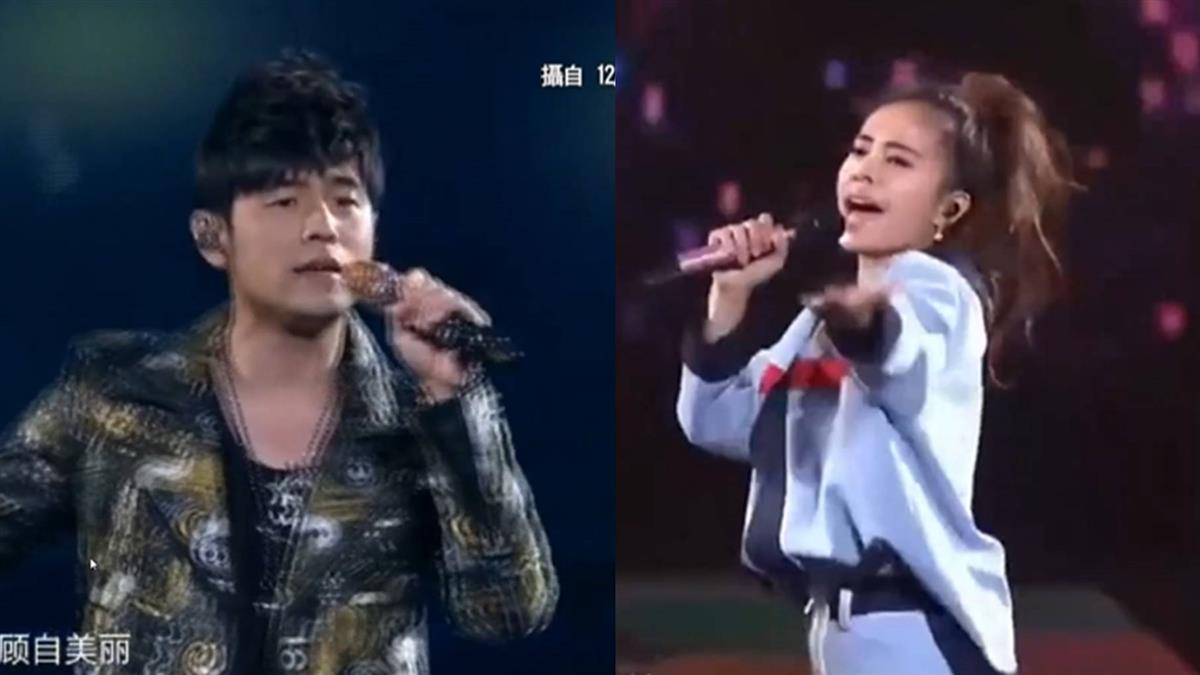 雙J同場不同框!蔡依林、周杰倫上海嗨唱