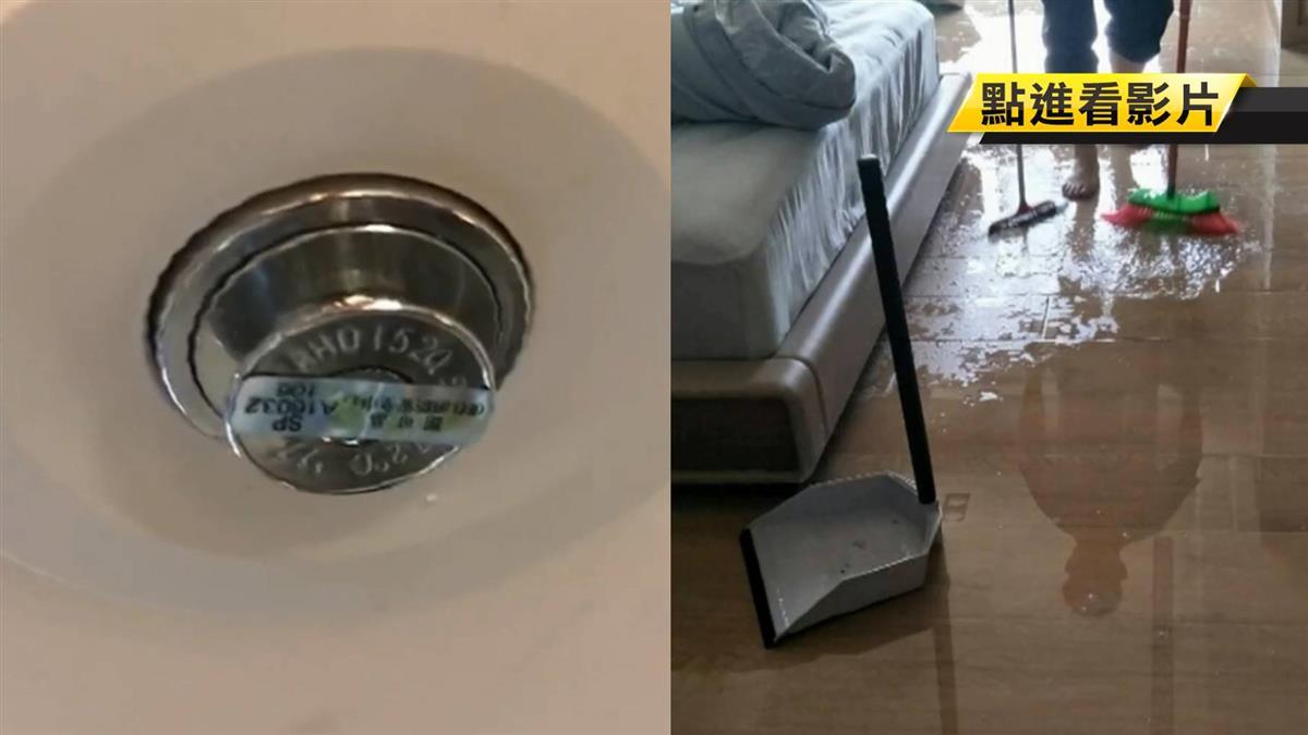 不定時炸彈!消防灑水器半年爆一顆 豪宅淹大水