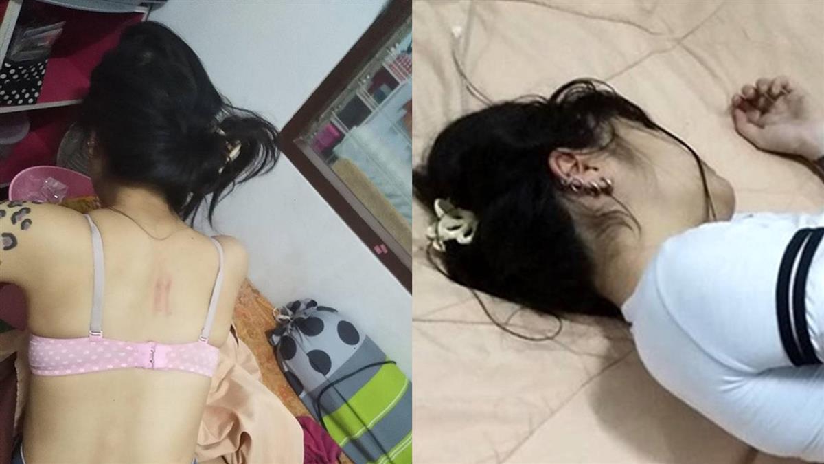 春藥受害又1人!正妹中招癱軟躺床 全身發熱狂脫衣