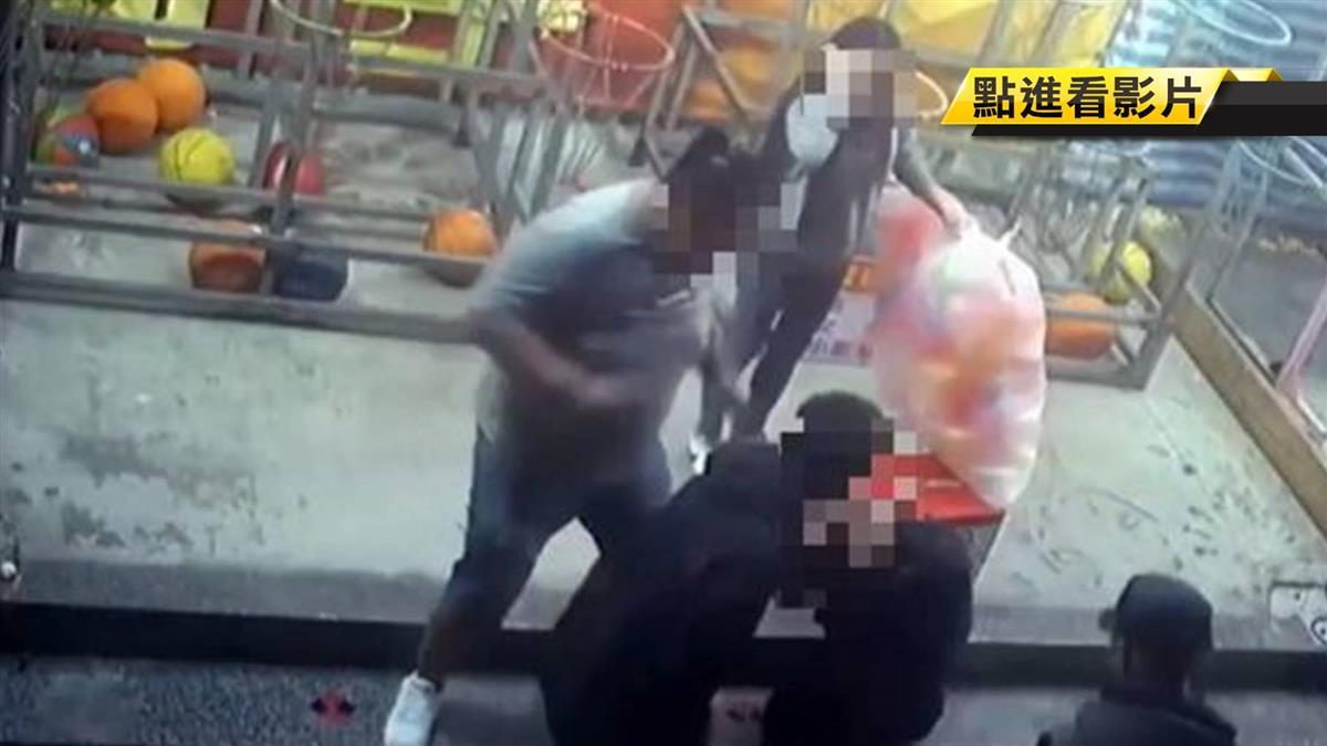 士林夜市攤商遭暴毆 黑幫插旗屢爆糾紛