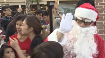 飄雪聖誕村超吸睛 購物中心搶攻節慶商機