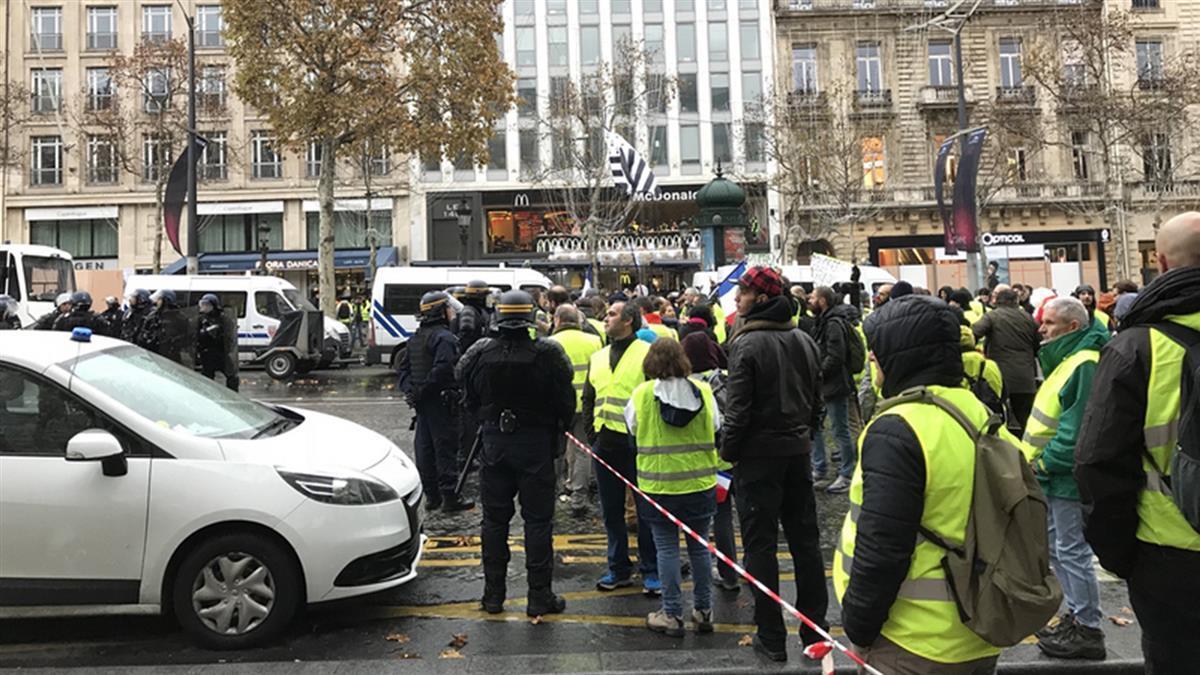 法國:黃背心運動不是降低抗暖化目標藉口