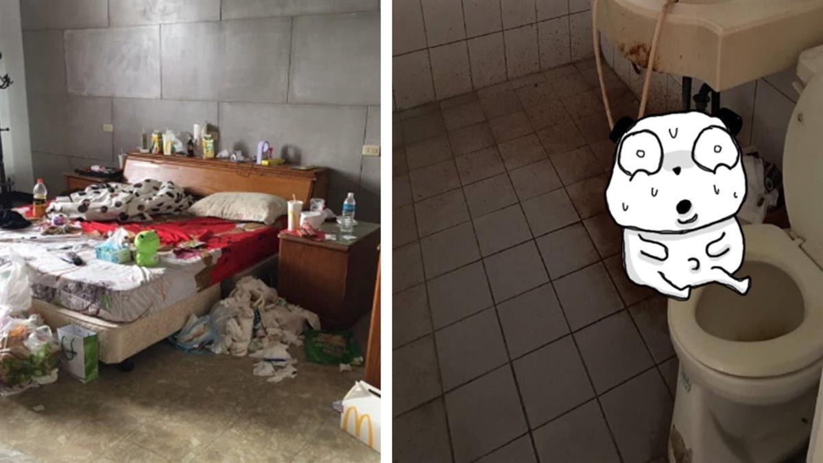 85年次小情侶帶球租屋 炸出噁爛垃圾堆…1個月後閃人
