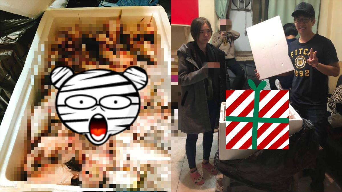 聖誕交換禮物飄「腥味」女秒臉綠!內行網友:賺到了