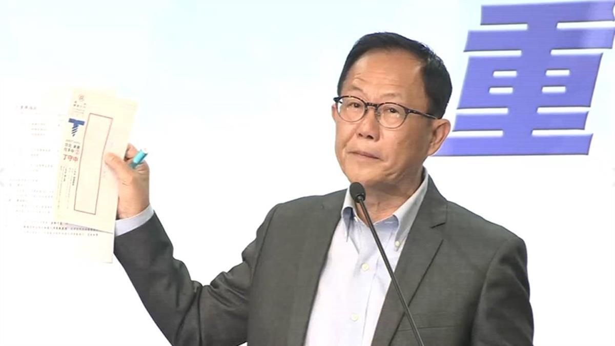 驗票沒翻盤!丁守中下午將提選舉無效:重傷台灣民主