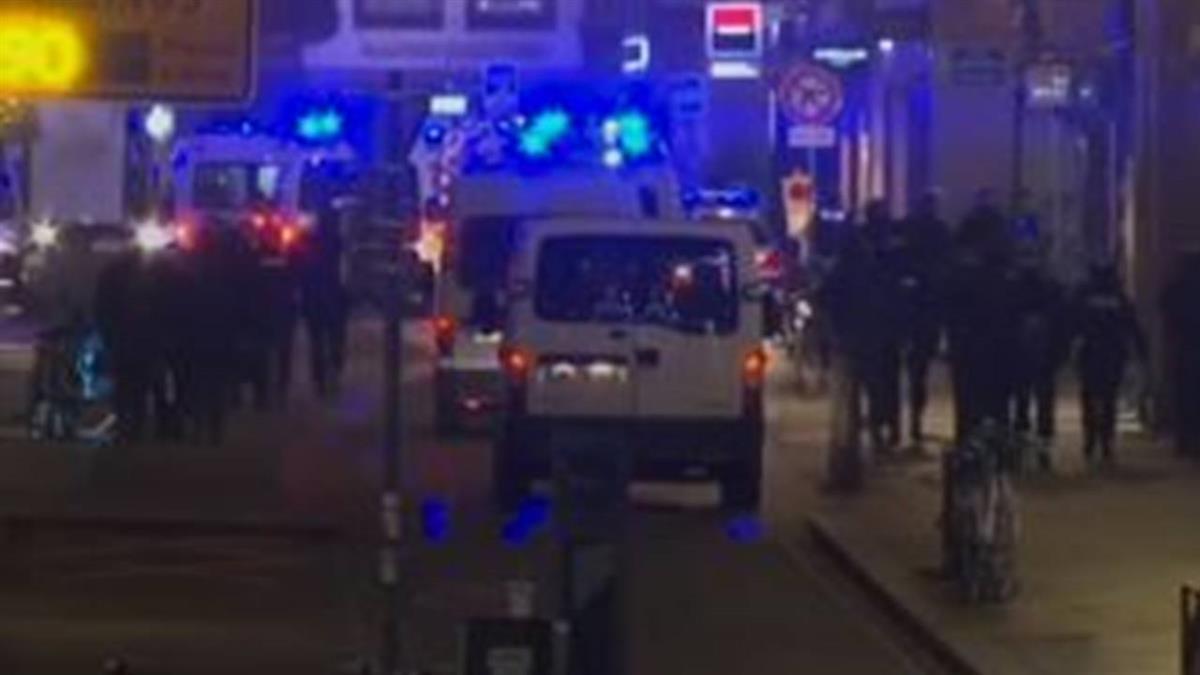 法史特拉斯堡槍擊2死11重傷 警方搜捕歹徒