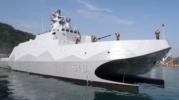 沱江艦量產版有差異 海軍承諾先完成作戰測評