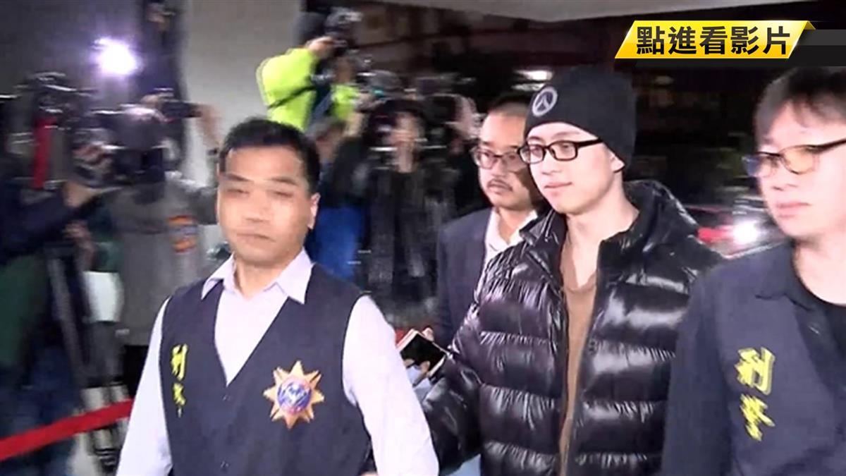 孫鵬憔悴護愛子返台 狄鶯衝入人群伴孫安佐