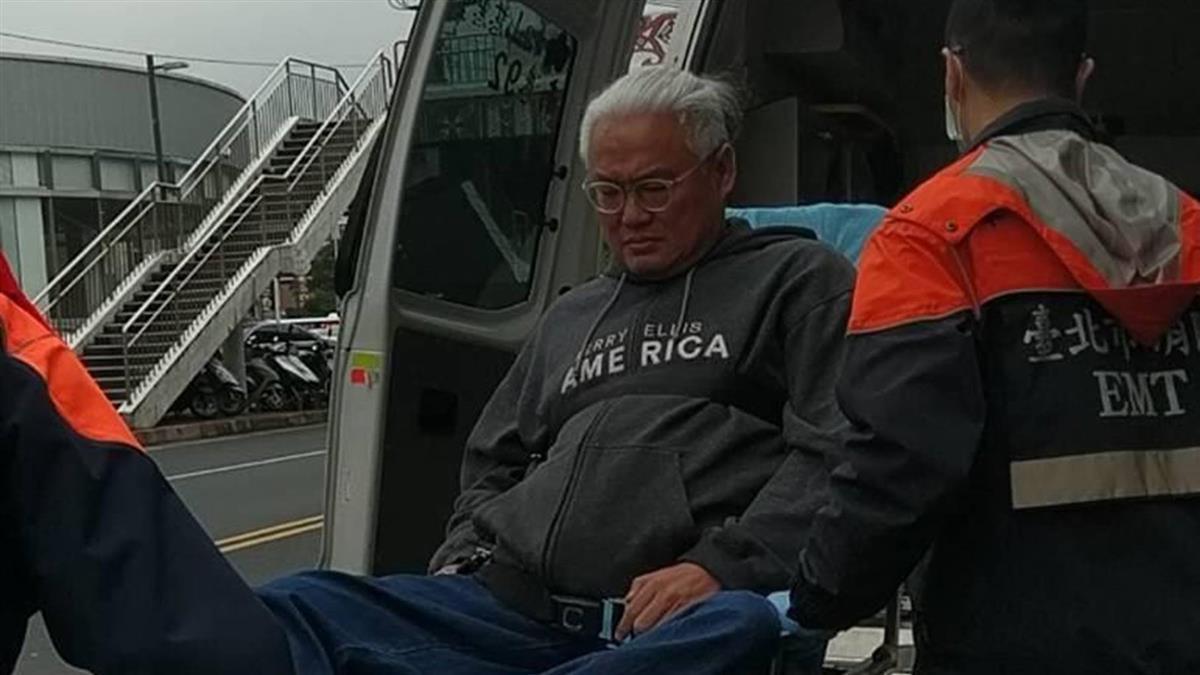 公車急煞!導演范可欽輪椅翻覆 肋骨壓傷「情況嚴重」