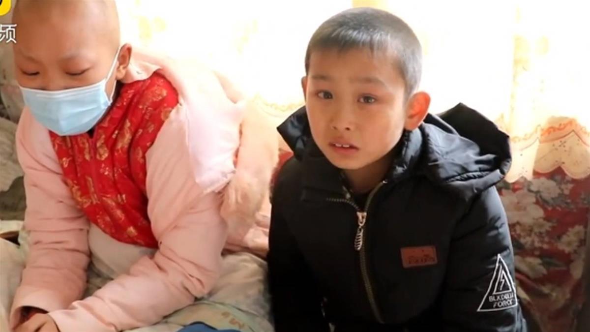 救白血病姊捐骨髓!8歲瘦弱弟泣:吃胖一點就可以救了