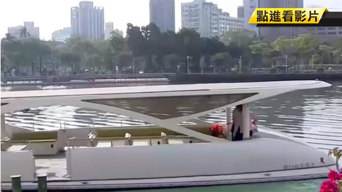 韓國瑜就職典禮將乘「8號船」 觀光客搶搭