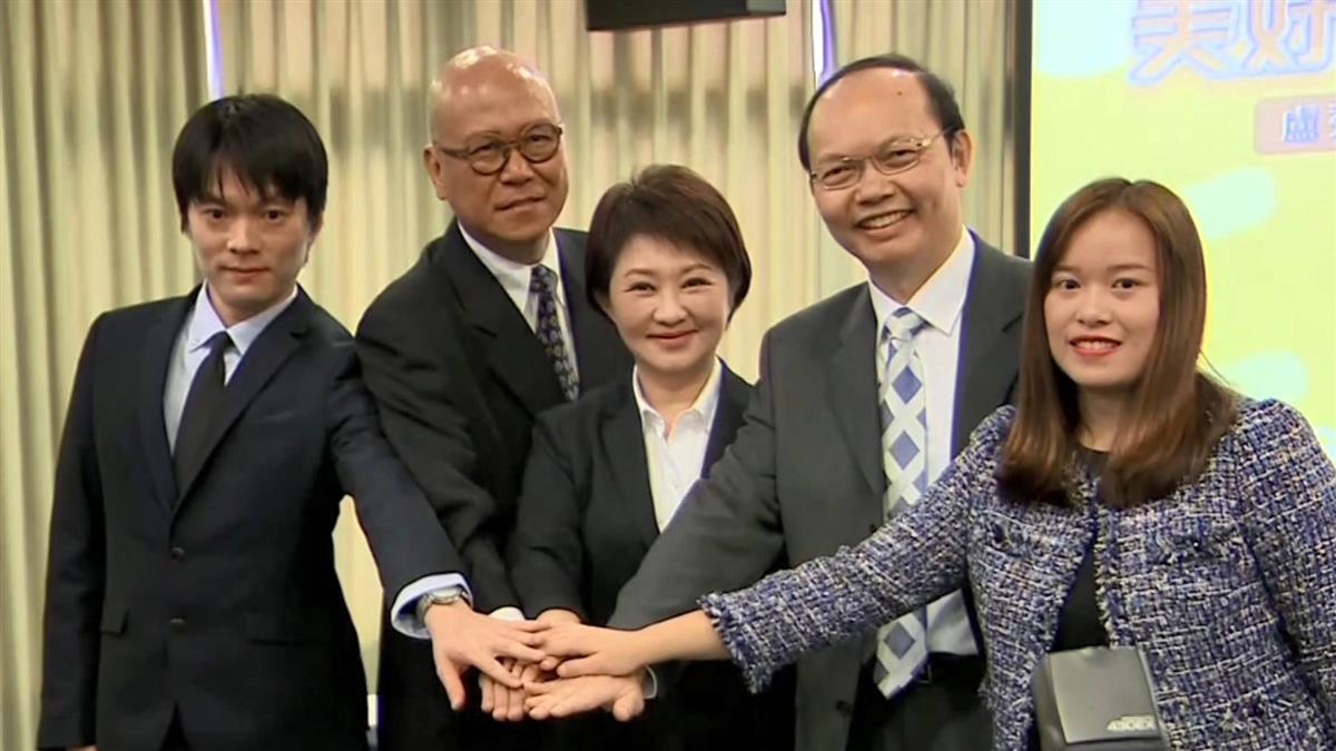 盧秀燕第3波內閣 教育、法制、經發全素人高手從政