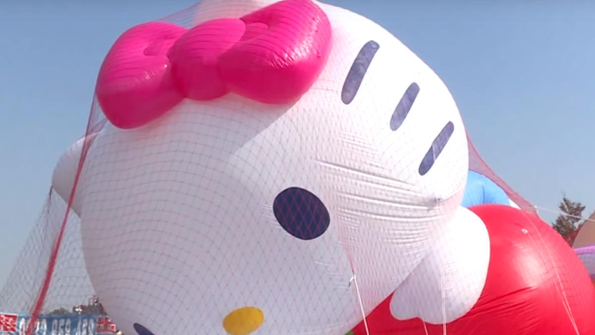 大氣球遊行!史努比、KITTY、OPEN將 歡樂亮相