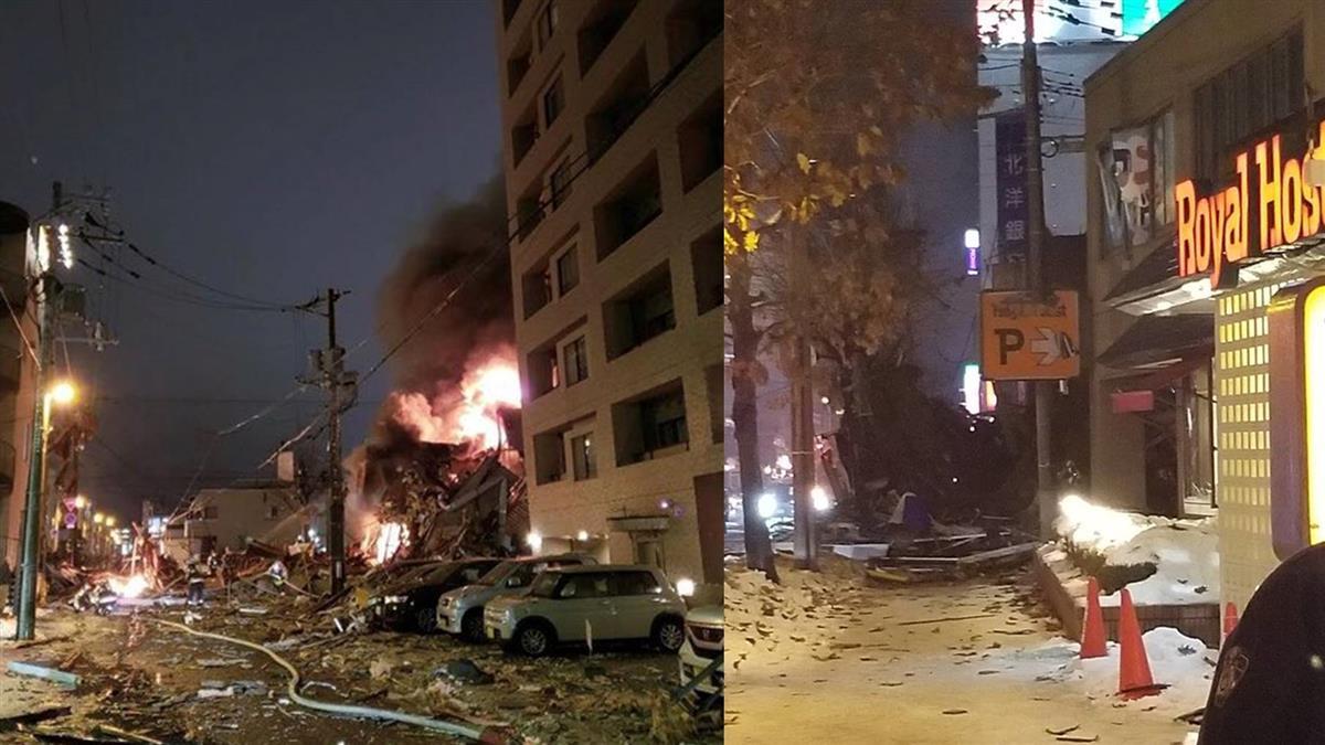 房屋倒塌!北海道札幌居酒屋爆炸 傳20多人受傷