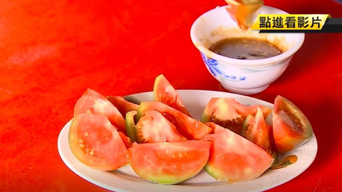 韓就職菜色有這味!觀光客搶吃「旗津薑汁番茄」