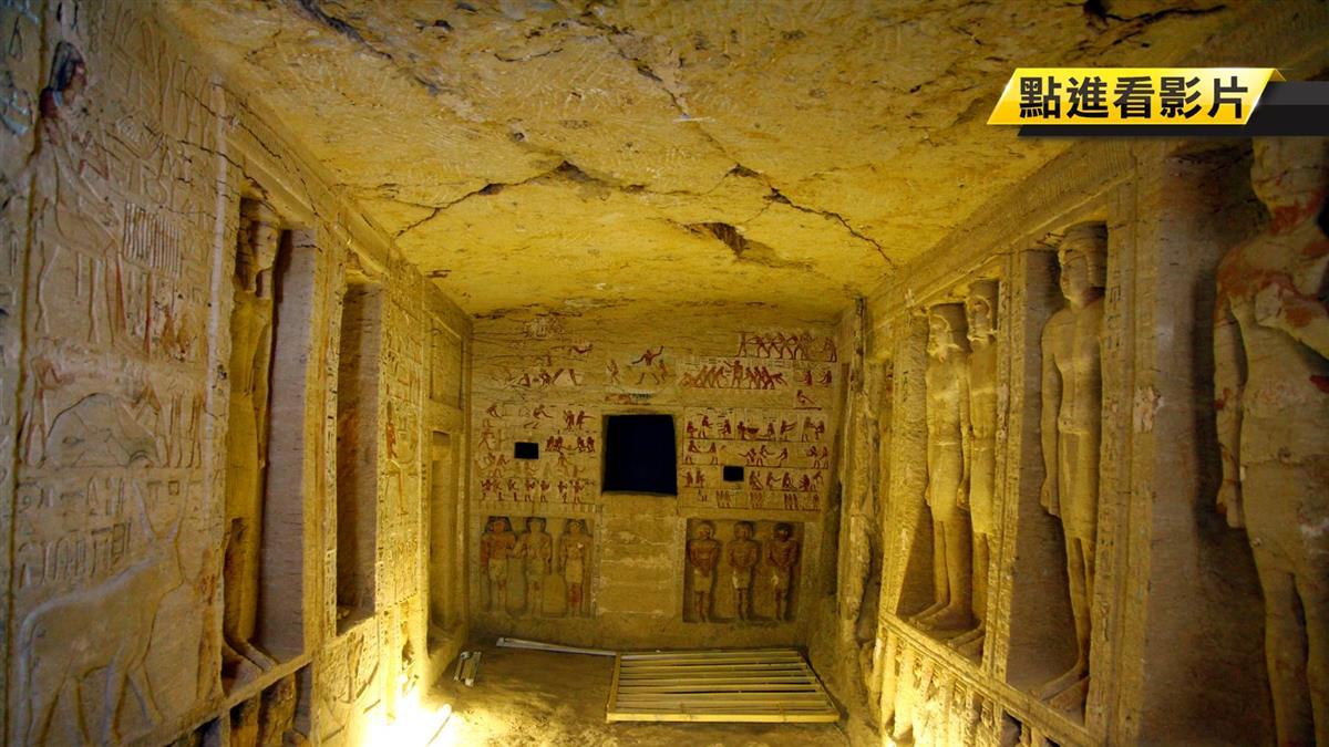 重大發現!埃及4400年前祭司古墓開挖 驚見5密道