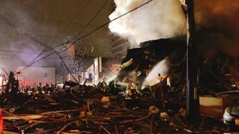 札幌爆炸案 疑120個消臭噴霧罐引爆