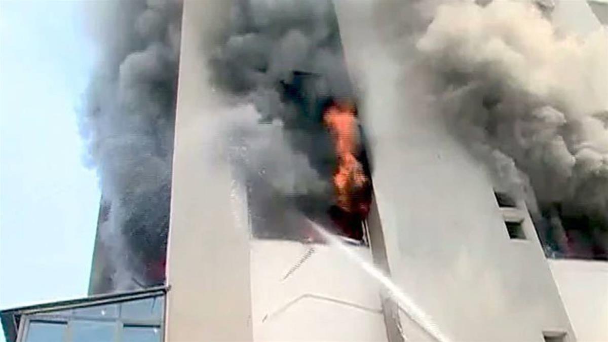 孟買醫院大火釀8死!3月大嬰兒喪命