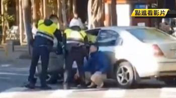 摔車攔截!毒犯拒檢逃3公里 大街上演警匪追逐