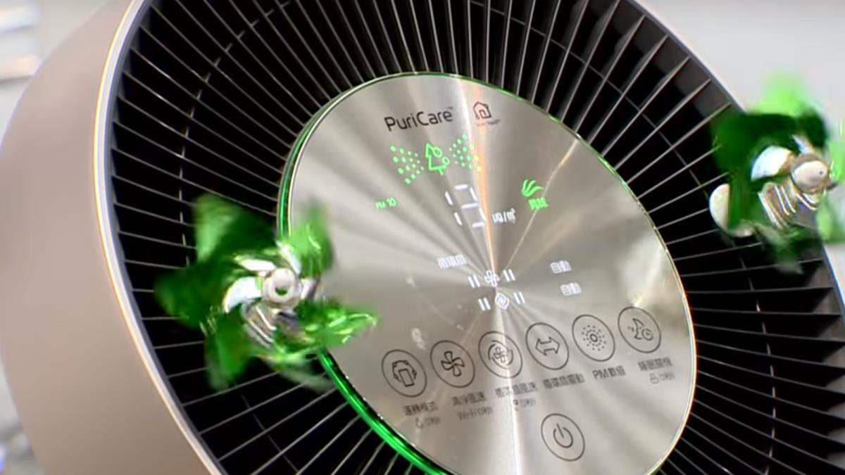 空淨機搭配除濕機 全方位淨化室內環境