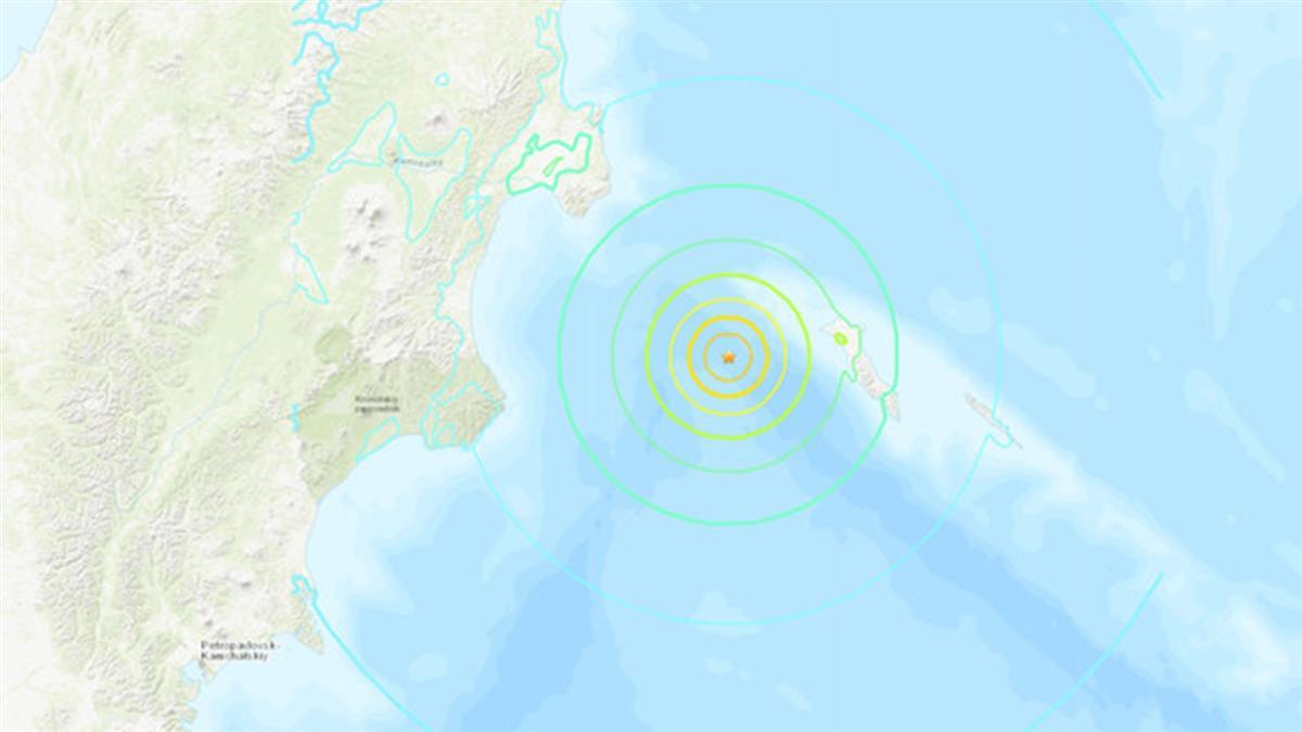 規模7.4強震襲擊俄羅斯遠東區!恐引發海嘯
