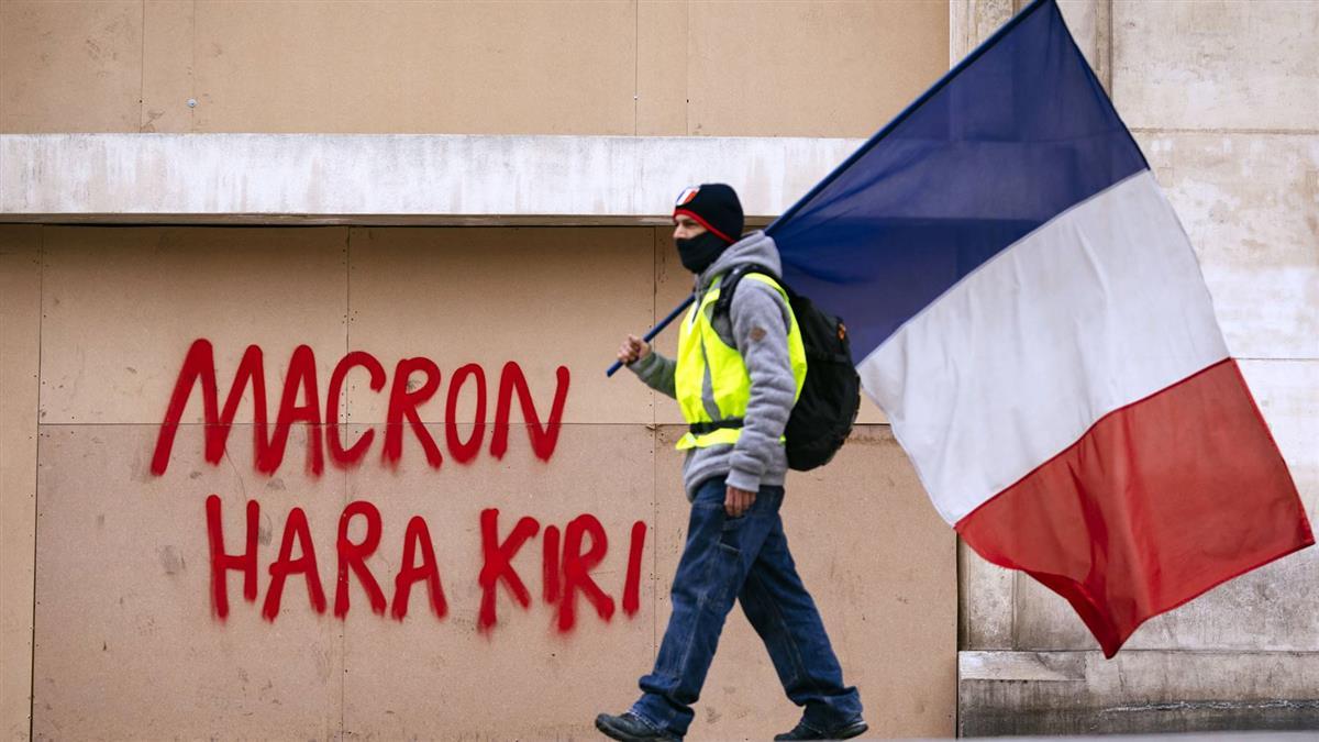 回應法國黃背心運動請願 馬克宏:你們是對的