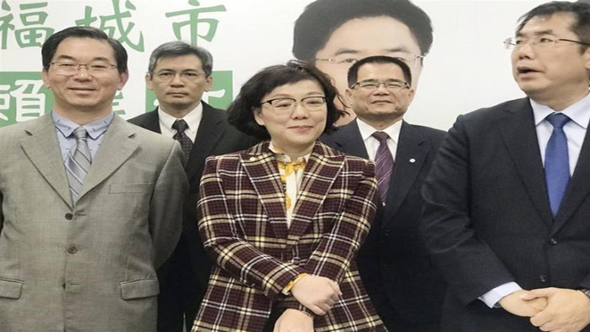 黃偉哲小內閣底定 王時思成台南首位女副市長