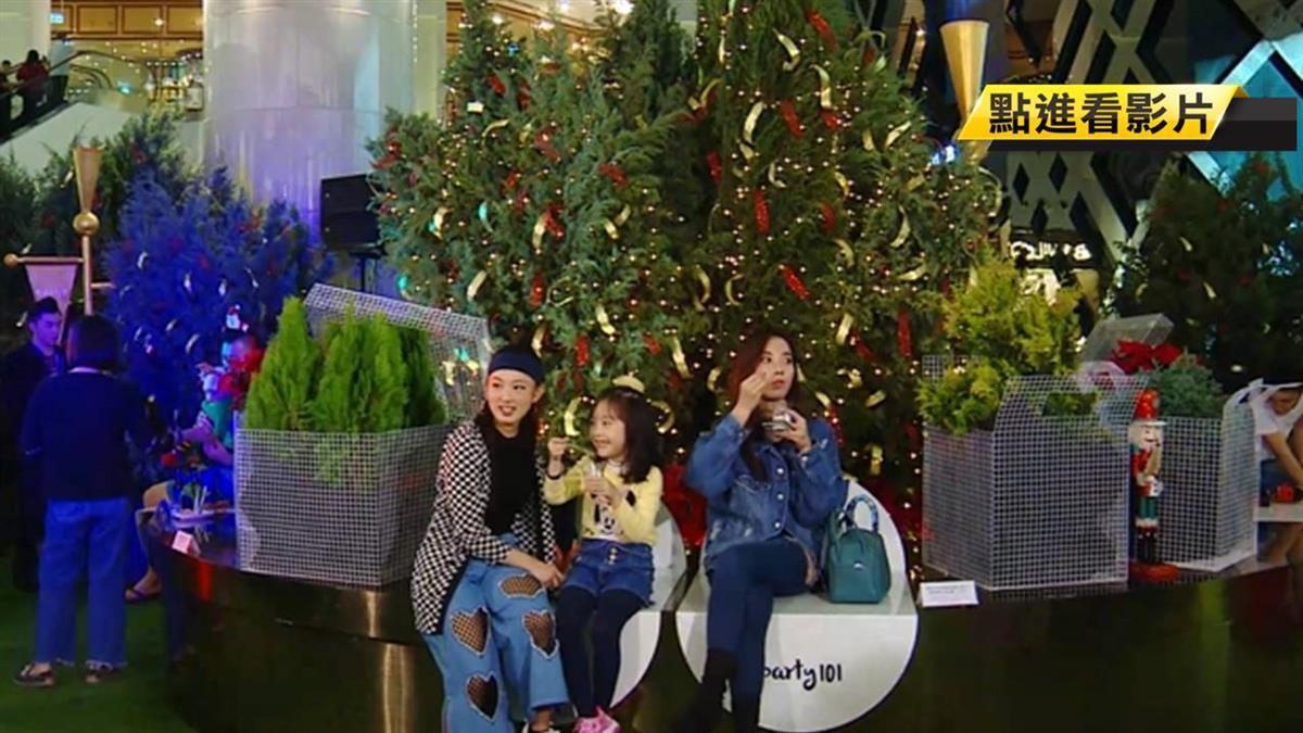 166棵柏樹移到台北101 耶誕節超有fu