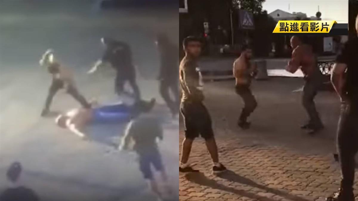 挨格鬥家一記「迴旋踢爆」!壯碩舉重冠軍被KO慘死