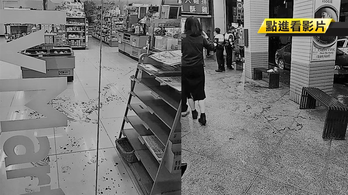 奧客沒錢還砍人…超商店員負傷狂追!沿路噴血250M