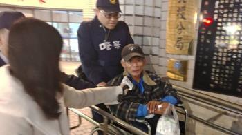 抗議天王被通緝!柯賜海看病遭逮捕送辦 喊:司法不公
