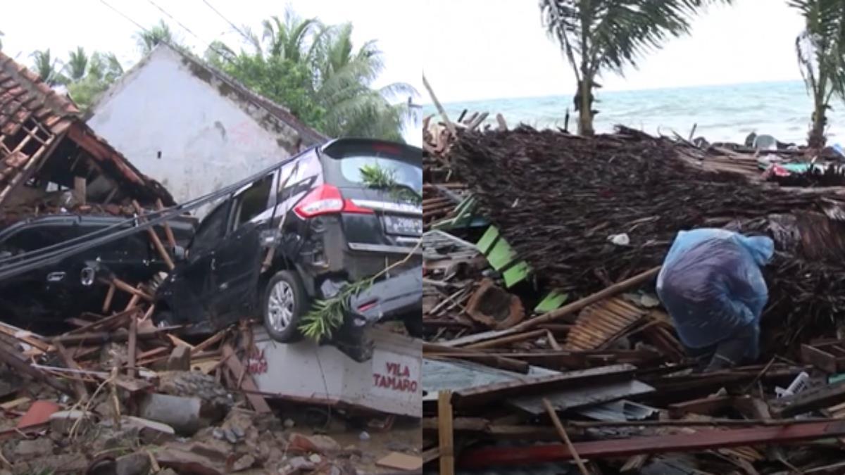 印尼海嘯襲擊 增至373死1459傷