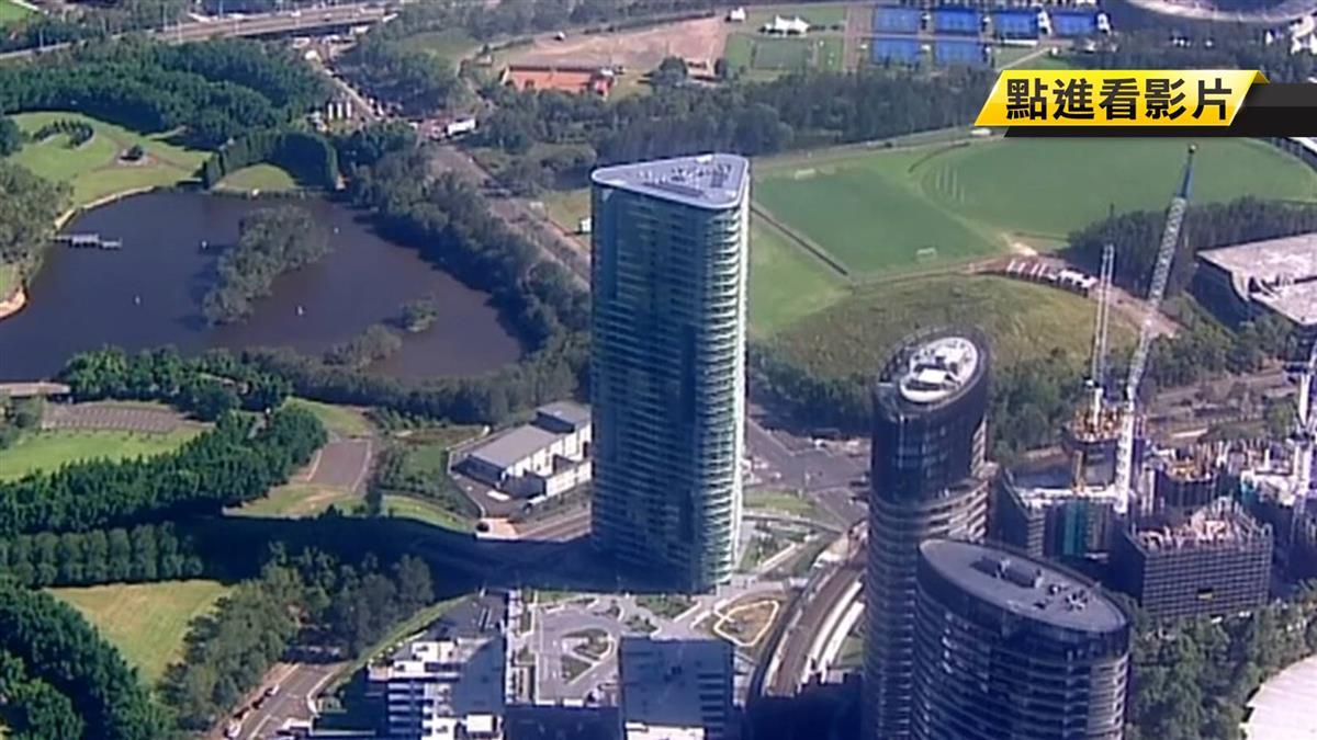 雪梨30多層高樓傳破裂聲 警消疏散3000人