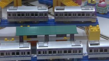 首登場!桃園機場捷運100%打造模型車軌道