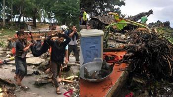 母親妻子落難先救誰? 印尼海嘯艱難抉擇真實上演