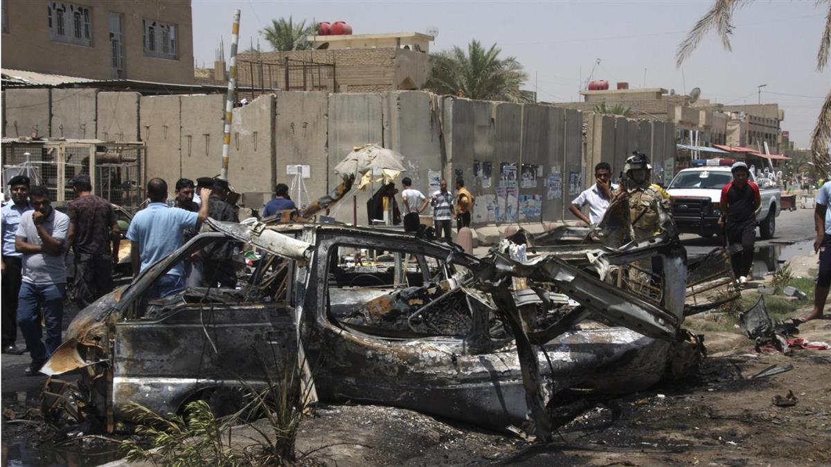 伊拉克北部汽車炸彈攻擊 2死11傷