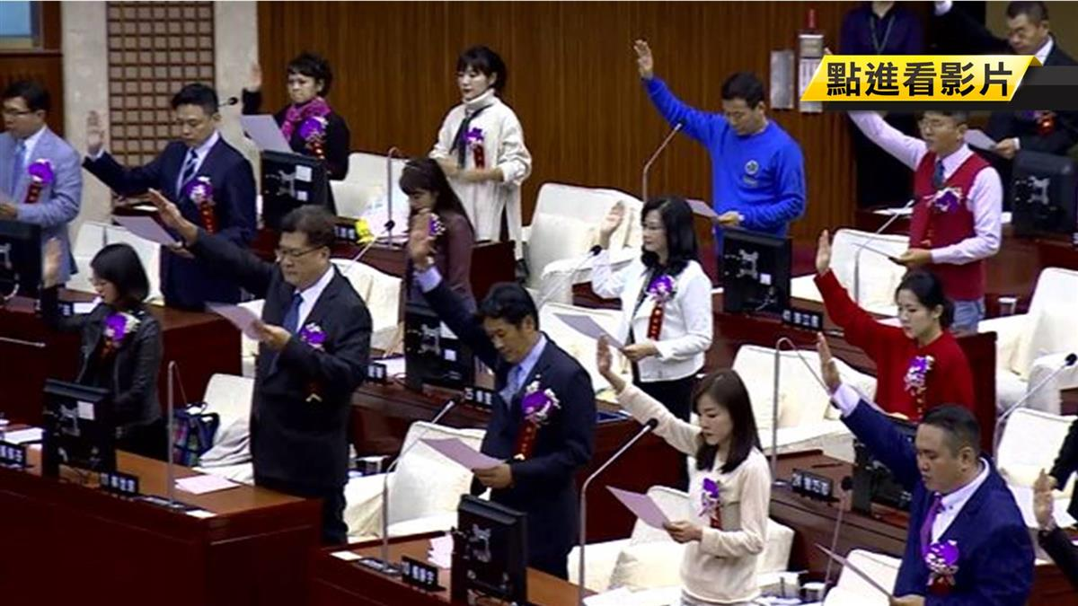 藍、綠無人跑票! 陳錦祥、葉林傳奪北市正副議長