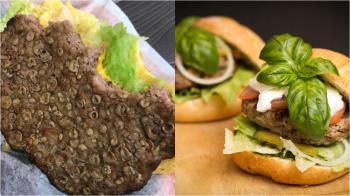 咬5口漢堡驚見「密集膿皰」!網嚇:淋巴瘤 真相長知識