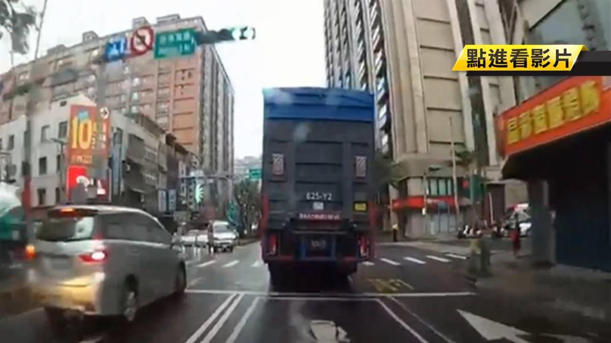 國道大貨車惡意逼車!駕駛怒PO網要公評引發正反論戰