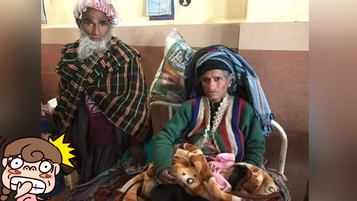 80歲老翁啪啪啪…65歲印度妻生二寶 成「世上最老母親」
