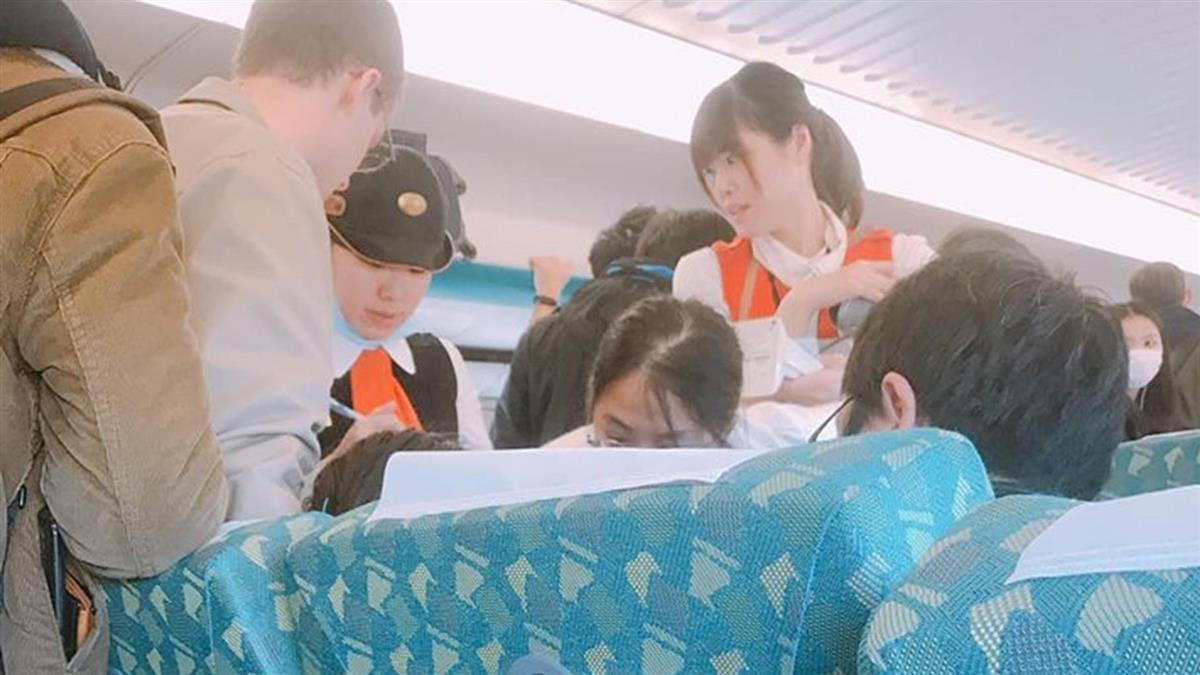 台灣最美風景!外籍女險昏厥 3醫護「高鐵當診療間」暖炸了
