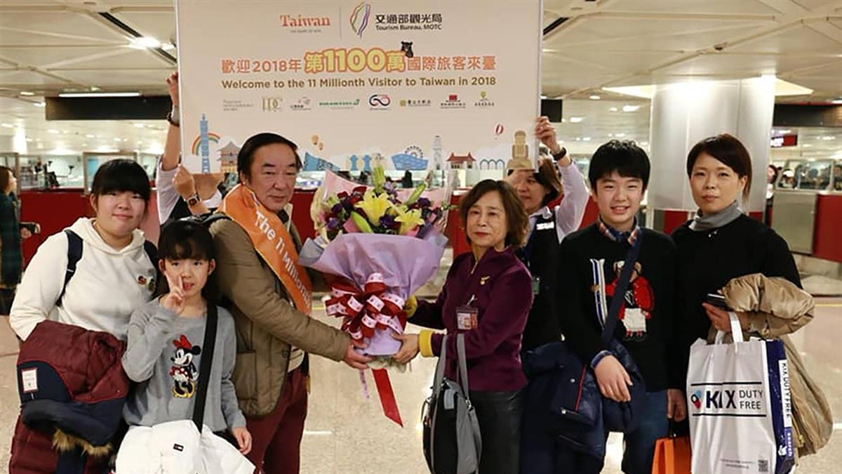 今年第1100萬來台觀光客是他!日本醫生第5次訪台