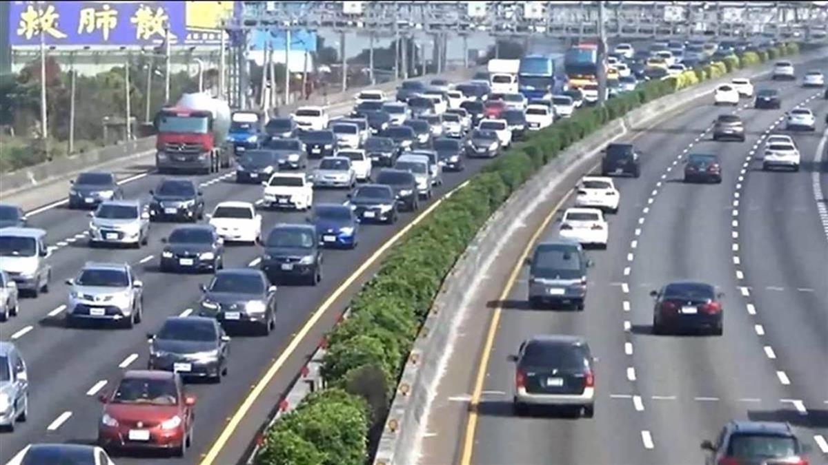 國道塞塞塞!元旦連假第2天 車潮比106年同期增13%