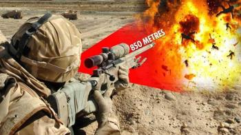 英超狂20歲狙擊手「一槍入魂」 殲滅850公尺外6恐怖份子