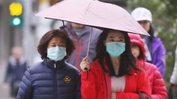全台各地有雨 北台灣濕冷